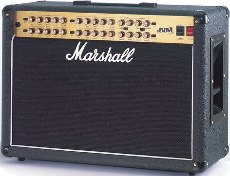 "Marshall Amplification JVM410C Guitar Amp, Tube Combo, 4-Channel, 100W, 2x12"" JVM410C"