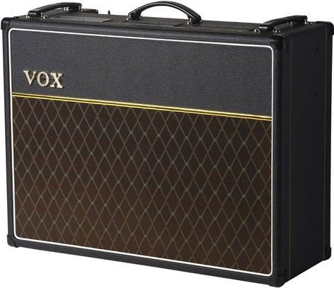 "Vox Amplification AC30C2X Custom AC30 Tube Combo 30W Tube Combo Guitar Amp with 2x12"" Celestion Alnico Blue Speakers AC30C2X"