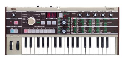 Korg microKORG 37-Key Synthesizer and Vocoder MICROKORG