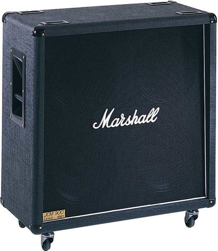 "Marshall Amplification 1960B 4x12"" 300W Straight Guitar Speaker Cabinet with Celestion G12T-75 Speakers 1960B"
