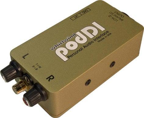 Whirlwind podDI Direct Box with 1 Summing Mono Output PODDI