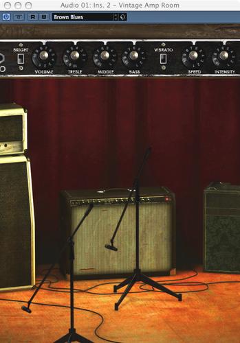 Softube VINTAGE-AMP-ROOM-NTV Vintage Amp Room Guitar Amplifier Simulation Software Plugin VINTAGE-AMP-ROOM-NTV