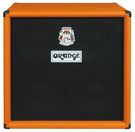 "Orange Amplification OBC410 4x10"" 4x10"" 600W Bass Speaker Cabinet with Horn OBC410"