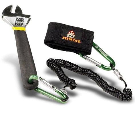 Setwear SW-05-502 Tool Leash, Black Carabineers SW-05-502
