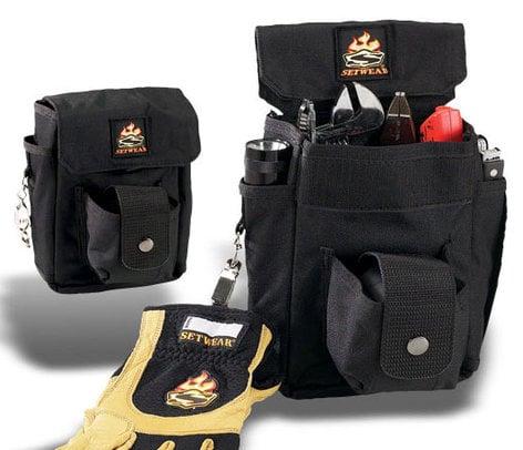 "Setwear SW-05-514 Combo Tool Pouch, 7.5"" x 6.5"", Black SW-05-514"