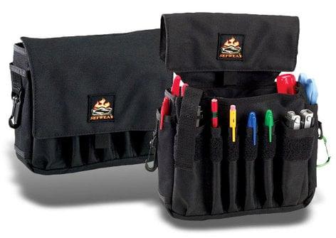 "Setwear SW-05-515 Jumbo AC Pouch, 7"" x 8"", Black SW-05-515"
