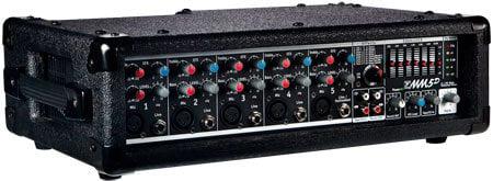 Yorkville MM5D MicroMix 5 Channel Mixer Amp, 2x90 Watt MM5D