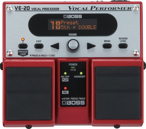 Boss VE20 Vocal Performer Pedal VE20
