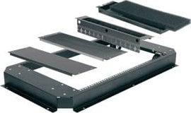 "Middle Atlantic Products CBS-WMRK-36  Skirted Wheelbase (for 36"" WRK Series Racks) CBS-WMRK-36"