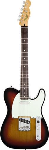 Squier TELE-CLASSVIBE-CUSTM Classic Vibe Telecaster Custom Electric Guitar with 3 Color Sunburst Finish TELE-CLASSVIBE-CUSTM