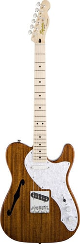 Squier TELE-CLASSVIBE-THIN Classic Vibe Thinline Telecaster Electric Guitar, Natural Maple TELE-CLASSVIBE-THIN