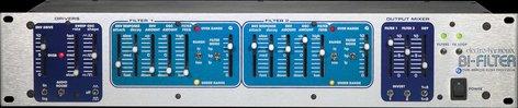 Electro-Harmonix BI-FILTER Rackmount Dual Analog Filter Processor, PSU Included BI-FILTER