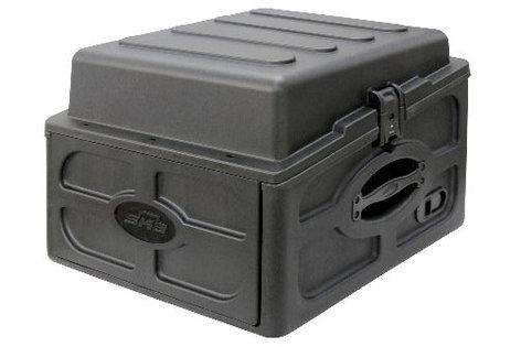 SKB Cases 1SKB-R104 10U x 4U Audio and DJ Rack Case 1SKB-R104