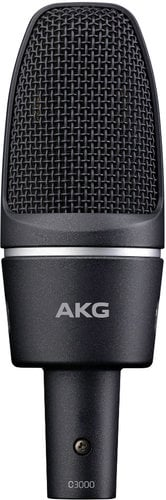AKG C3000 Large Diaphragm Cardioid Condenser Microphone with H85 Shockmount C3000