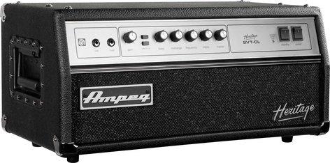 Ampeg Heritage SVT-CL 300W Tube Bass Amplifier Head HSVTCL