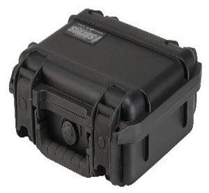 "SKB Cases 3I-0907-4B-E Molded Case, 9"" x 7"" x 4"" with mini-latch, empty 3I-0907-4B-E"