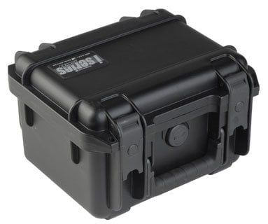 """SKB Cases 3I-0907-6B-D  Molded Case, 9"""" x 7"""" x 6"""" with mini-latch, dividers 3I-0907-6B-D"""
