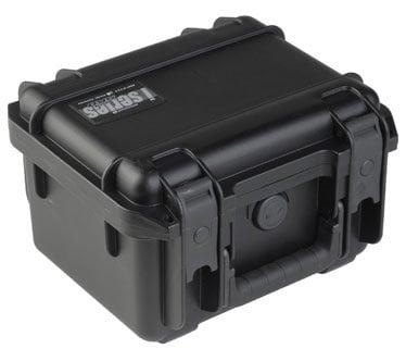 "SKB Cases 3I-0907-6B-E Molded Case, 9"" x 7"" x 6"" with mini-latch, empty 3I-0907-6B-E"