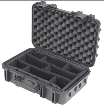 "SKB Cases 3I-1610-5B-D Molded Case, 16 x 10 x 5.5"", Dividers 3I-1610-5B-D"