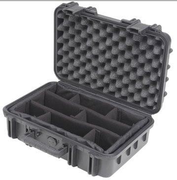 "SKB Cases 3I-1610-5B-D Molded Case, 16 x 10 x 5.5"", Dividers 3I-1610-5B-D"