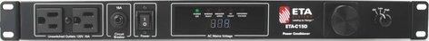 ETA ETA-C15D  Power Conditioner, 10 Outlets (8 Rear, 2 Front), 15A, Digital Voltmeter ETA-C15D