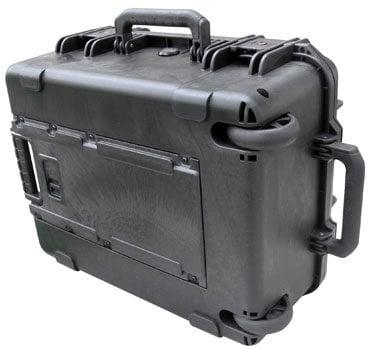 SKB Cases 3I-1914-8B-C  Molded Case, 19 x 14 x 8, Wheels, Pull Handle, Cubed Foam 3I-1914-8B-C