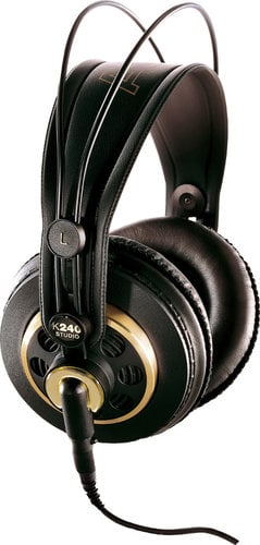 AKG K240 Studio Semi-Open Over-Ear Stereo Headphones with 3M Detachable Cable K240-STUDIO