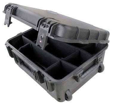 SKB Cases 3I-1914-8B-D  Molded Case, 19 x 14 x 8, Wheels, Dividers 3I-1914-8B-D