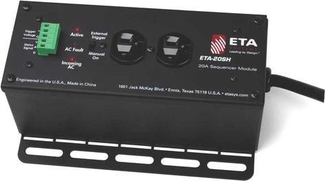ETA ETA-20SH  AC Power Conditioning & Suppression Module, 2 Outlets, 20A ETA-20SH