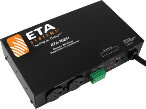 ETA Systems ETA-15SH  AC Power Conditioning & Suppression Module, 2 Outlets, 15A ETA-15SH