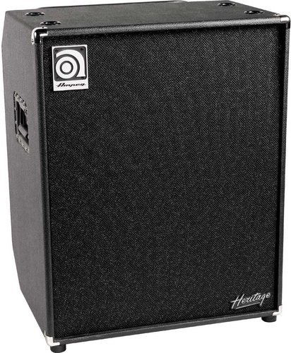 "Ampeg HSVT410HLF Heritage Series 4x10"" Bass Cabinet, 1"" HF Driver w/Level Control, 500W RMS @ 4 Ohms HSVT410HLF"