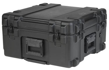 SKB Cases 3R2222-12B-DW Roto Mil-Std Waterproof Case, 22 x 22 x 12, Dividers, Wheels 3R2222-12B-DW