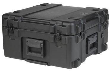 SKB Cases 3R2222-12B-DW Roto Mil-Std Waterproof Case, 22 x 22 x 12, Dividers, Wheels 3R2222-12B-DW