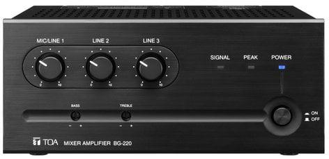 TOA BG235CU Mixer/Amp, 35W, 3 Input BG235CU