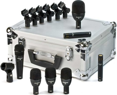 Audix FP7-FUSION 7-Piece Fusion Drum Mic Package FP7-FUSION