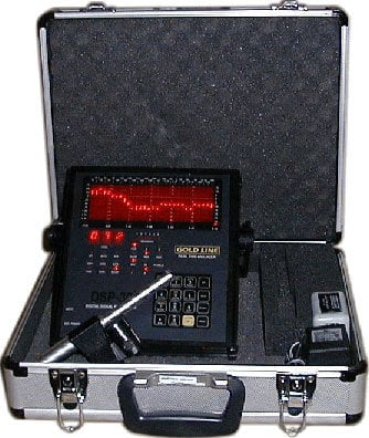 Goldline PROKIT30H Analyzer Mic Kit with Case PROKIT30H