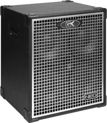 "Gallien-Krueger NEO410/4 Bass Speaker Cabinet, 4x10"", 800W, 4 Ohm, w/Removable Casters NEO410/4"