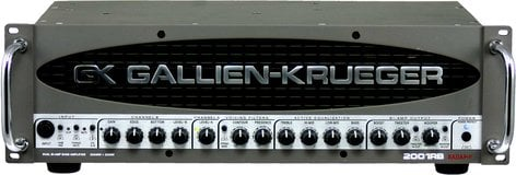 Gallien-Krueger 2001RB 2x540W Bass Amplifier Head with 2x50W Horn Bi-Amp System 2001RB