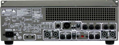 Gallien-Krueger 2001RB 2x540W Bass Amplifier Head with 2x50W Horn Bi-Amp System 2001RB
