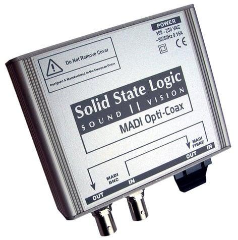 Solid State Logic MADI-OPTI-COAX  MADI Converter  MADI-OPTI-COAX