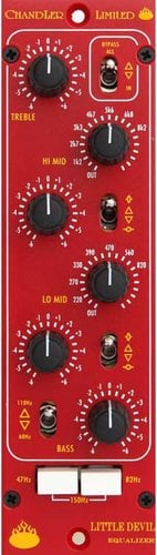 Chandler Limited LITTLE-DEVIL-EQ Equalizer Module for 500-Series Racks LITTLE-DEVIL-EQ