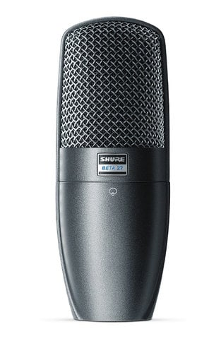 Shure BETA 27 Large Diaphragm Side-Address Supercardioid Condenser Microphone BETA27