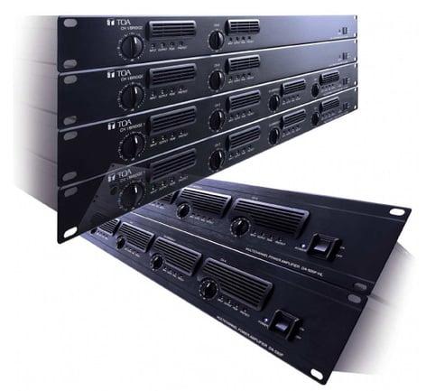 TOA DA250DCU Digital Power Amp, 2 Channel 250 Watt @ 4 ohms, 170W @ 8 Ohms DA250DCU