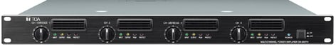 TOA DA250FHCU DA Series 4-Channel 1000W 70V Rackmount Power Amplifier DA250FHCU