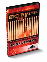 Spectrasonics BURNING-GROOVES  S.A.G.E. ,Xpander for Stylus RMX BURNING-GROOVES