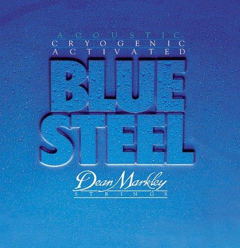 Dean Markley 2034 Light Blue Steel Acoustic Guitar Strings 2034-DEAN