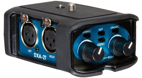 BeachTek DXA-2T Universal Camcorder Audio Adapter DXA-2T