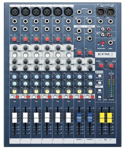 Soundcraft EPM6 6-Channel Mixer EPM6