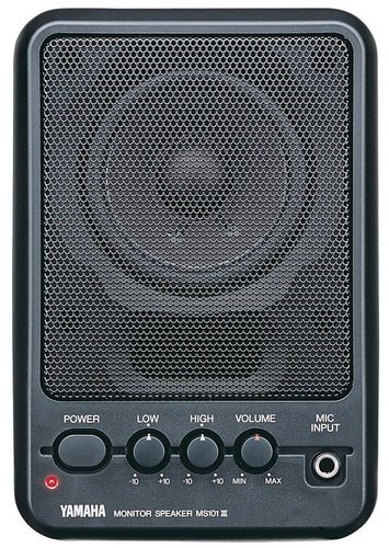 Yamaha MS101-III 10W Powered Monitor Speaker MS101-III-CA