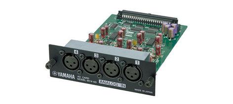 Yamaha MY4AD 4-Channel A/D XLR Interface Card MY4AD-CA
